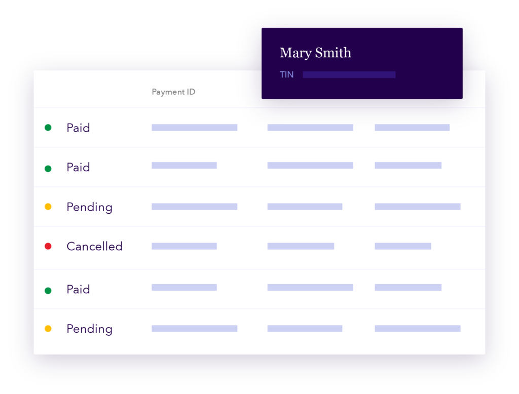 Provider Payments product UI